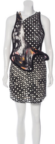 3.1 Phillip Lim 3.1 Phillip Lim Embroidered Sleeveless Dress