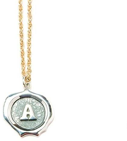 Neha Personalized handmade initial necklace
