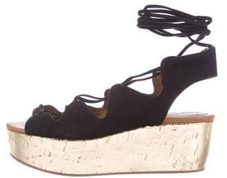 See by Chloe Suede Platform Wedges