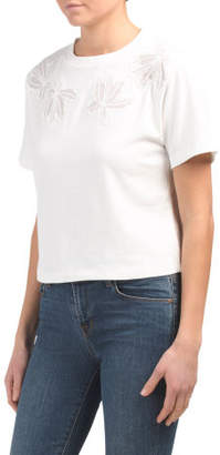 Lace Applique Tee
