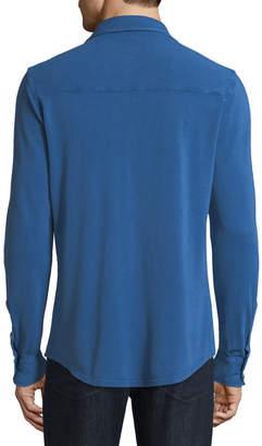 Fedeli Men's Pique-Knit Polo Sport Shirt