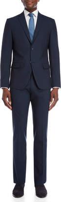 American Designer Navy Rudolf Wool Suit