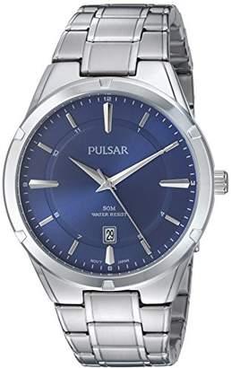 Pulsar Men's Quartz Stainless Steel Casual Watch