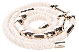 Gucci Embellished Rope Belt
