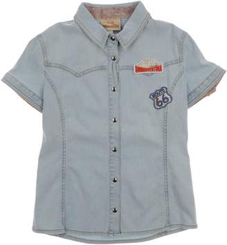 Alviero Martini DONNAVVENTURA by Denim shirts - Item 42588010TH