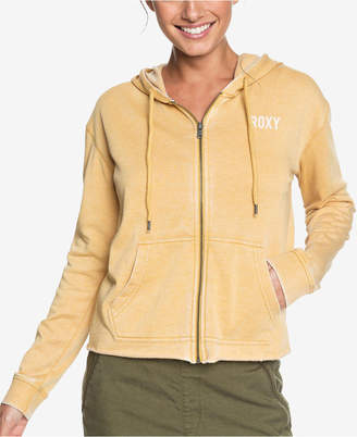 Roxy Juniors' Moon Rising Zip-Up Hooded Sweatshirt