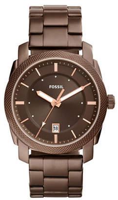Fossil Machine Stainless Steel Bracelet Watch