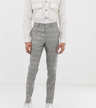 Noak suit trousers in grey check