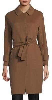 Max Mara Berto Detachable Collar Coat