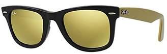 Ray-Ban WAYFARER - Frame LIGHT BROWN MIRROR GOLD Lenses 54mm Non-Polarized
