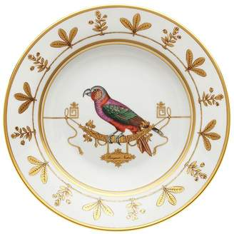 Richard Ginori 1735 Volière Perroquet Soup Plate (24.5cm)