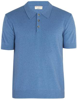 ÉDITIONS M.R Jude terry-towelling cotton-blend polo shirt