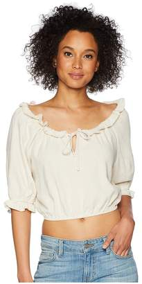 Rachel Pally Linen Polly Top Women's Clothing