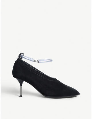 8798a02bdd44 at Selfridges · Jil Sander Bracelet-strap velvet pumps