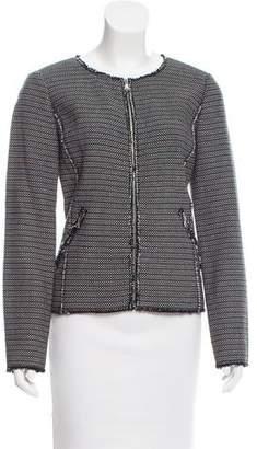 Rebecca Taylor Tweed Zip-Up Jacket w/ Tags