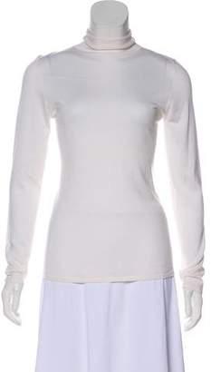 Brunello Cucinelli Cashmere & Silk-Blend Turtleneck Sweater