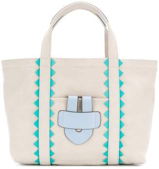Tila March Simple Bag S ZigZag tote baf