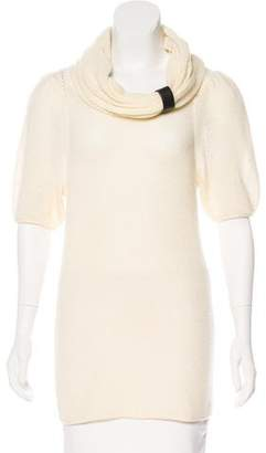 Marc by Marc Jacobs Wool & Cashmere-Blend Open-Knit Top