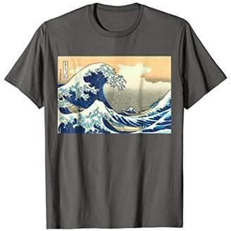 The Great Hokusai Wave off Kanagawa Painting T-shirt