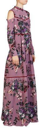 Erdem Sabine Silk Floral Gown