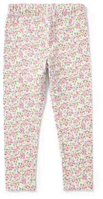 Ralph Lauren Floral Stretch Cotton Legging