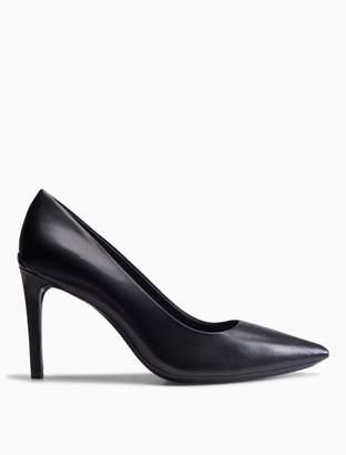 Calvin Klein rizzo leather pump