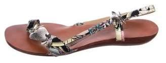 Rachel Comey Satin Slingback Sandals