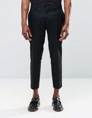 Religion Skinny Cropped Smart Pants In Black $219 thestylecure.com