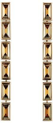 Swarovski Fluid Linear Drop Earrings