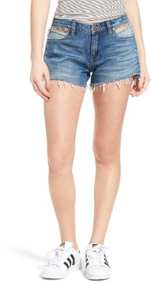 Women's Blanknyc Cutoff Denim Shorts $78 thestylecure.com