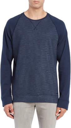DKNY Navy Raglan Pullover Sweater
