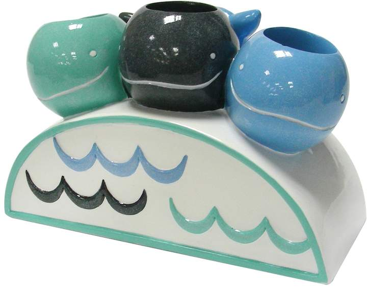Allure Home Creations Whale Watch Toothbrush Holde...