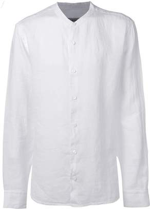 Ermenegildo Zegna round-neck linen shirt