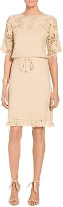 St. John Seed Stitch Dress