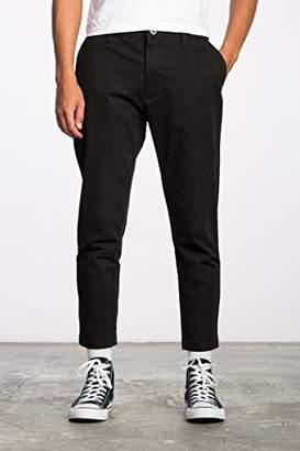 RVCA Men's Hitcher Cropped Taper Pants