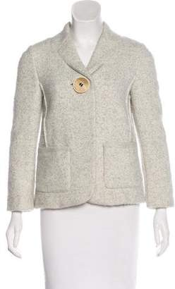 Calvin Klein Collection Wool & Alpaca-Blend Blazer