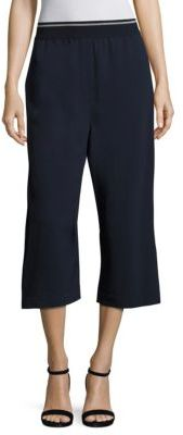DKNY Cropped Wide-Leg Pants $198 thestylecure.com