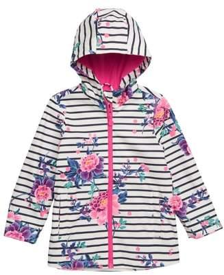 Joules Floral Waterproof Raincoat