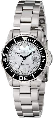 Invicta Women's 2958 Pro Diver Collection Lady Abyss Silver-Tone Watch