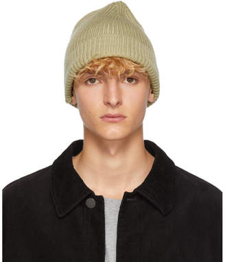 Lemaire Green Wool Beanie