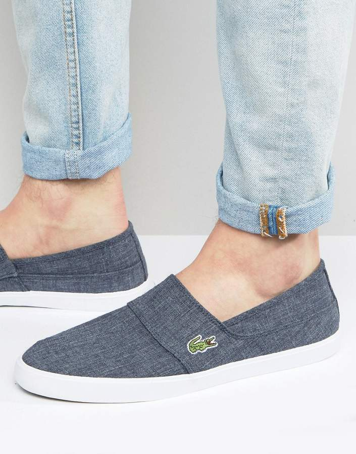 Lacoste Lacoste Marice Chambray Slip On Sneakers
