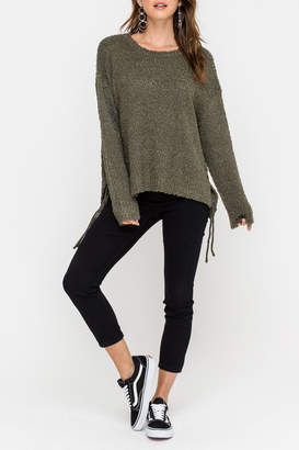 Lush Side Tie Sweater