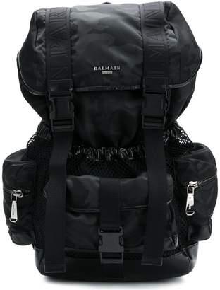 Balmain military inspired backpack