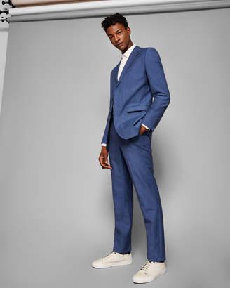 Ted Baker COLMARJ Slim fit linen suit jacket