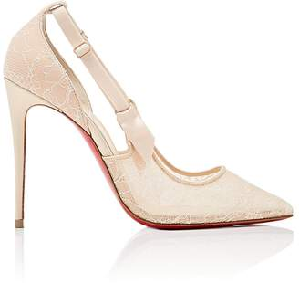 Christian Louboutin Women's Jeanbi Lace Pumps