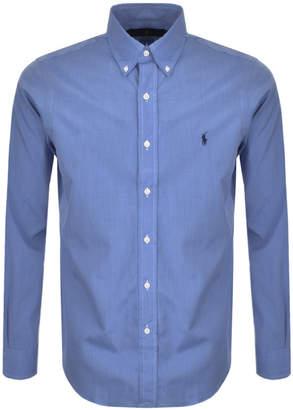 Ralph Lauren Long Sleeved Core Fit Shirt Blue