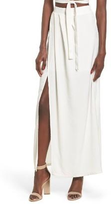Women's 4Si3Nna Maxi Skirt $69 thestylecure.com