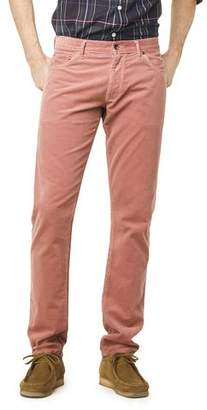 Todd Snyder 5-Pocket Stretch Italian Cord in Pink