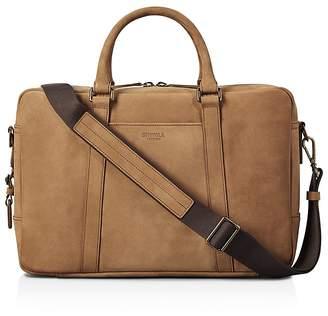 Shinola Outrigger Leather Slim Briefcase