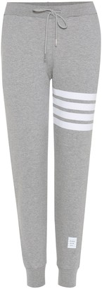 Thom Browne Cotton track pants
